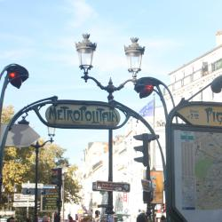 Pigalle Metro Station
