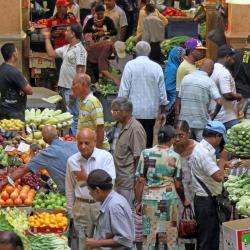 Centrale markt van Port Louis, Port Louis
