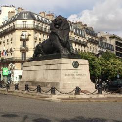 Plaza Denfert-Rochereau