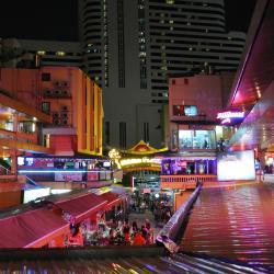 Quartiere a Luci Rosse di Nana Plaza, Bangkok