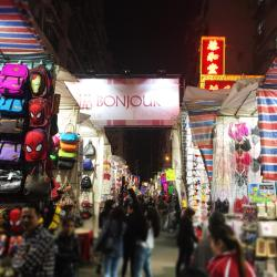 tržnica Ladies Market, Hongkong
