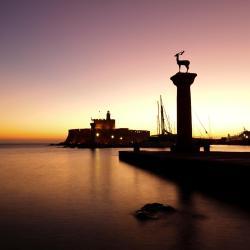 Mandraki Port