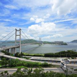 Tsing Ma Bridge, Hongkong