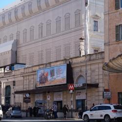 Estación de metro Barberini Fontana di Trevi
