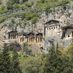 Lycian Rock Cemetery, Patara