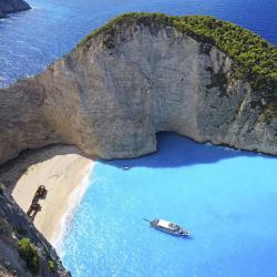 Navagio-strand, Agios Nikolaos