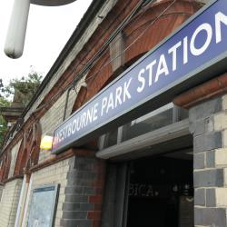 Westbourne Park Tube Station