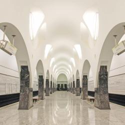 Volokolamskaya Metro Station