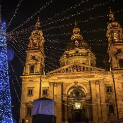 Božićni vašar kod Bazilike Sv. Stefana, Budimpešta