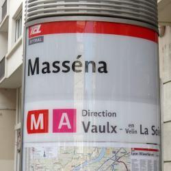 Métro Masséna
