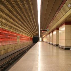 Staroměstská Metro Station