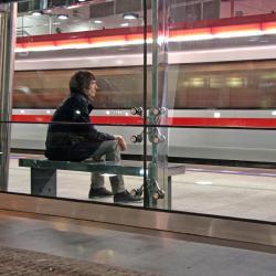 Prosek Subway Station