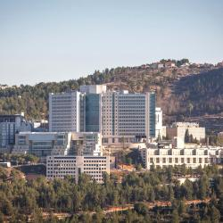 Hadassah Hospital on Mount Scopus