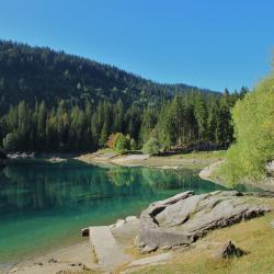 Jezero Cauma, Flims