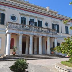 Mon Repos-paleis, Corfu-stad