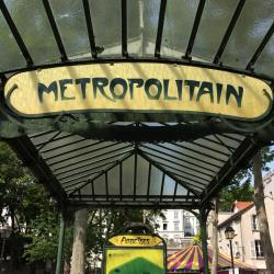Abbesses Metro Station