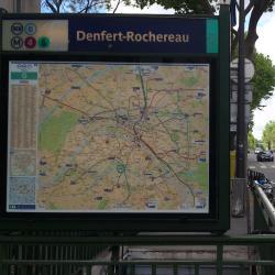 Estación de metro Denfert-Rochereau