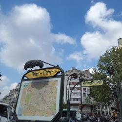 Estación de metro Place de Clichy