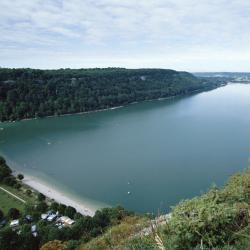 Lac de Chalain, Doucier