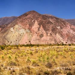 Cerro de los Siete Colores (Heuvel van zeven kleuren), Purmamarca