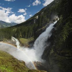 Каскад водопадов Кримль, Кримль