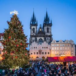 Vianočné trhy Praha, Praha