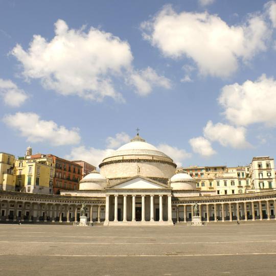 Pizza et café à Naples