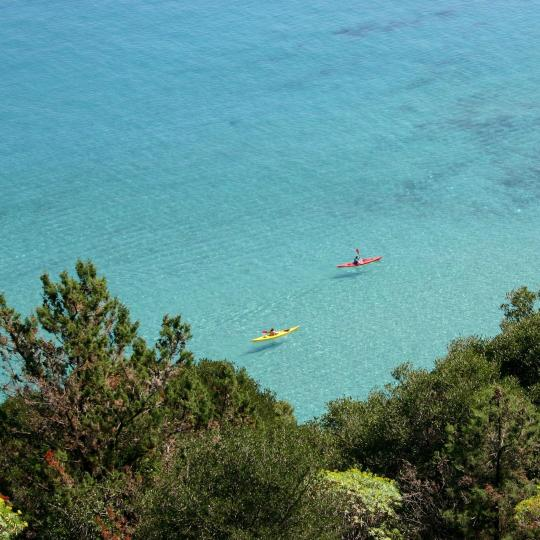 Kayak around the Aeolian Islands