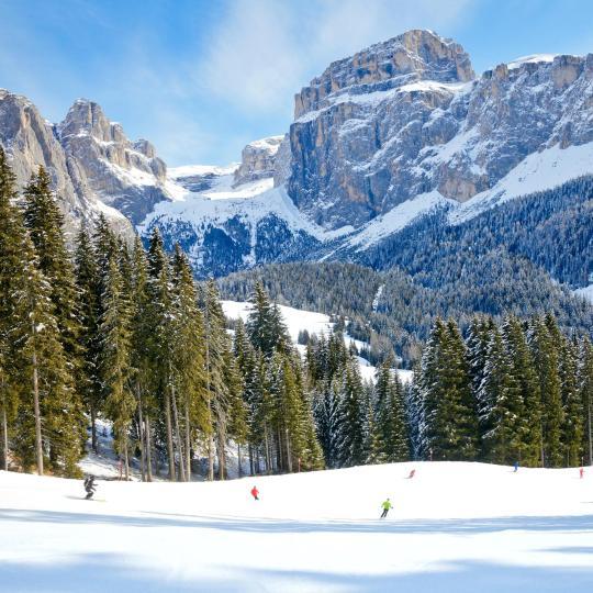 Die Skirundtour Sella Ronda