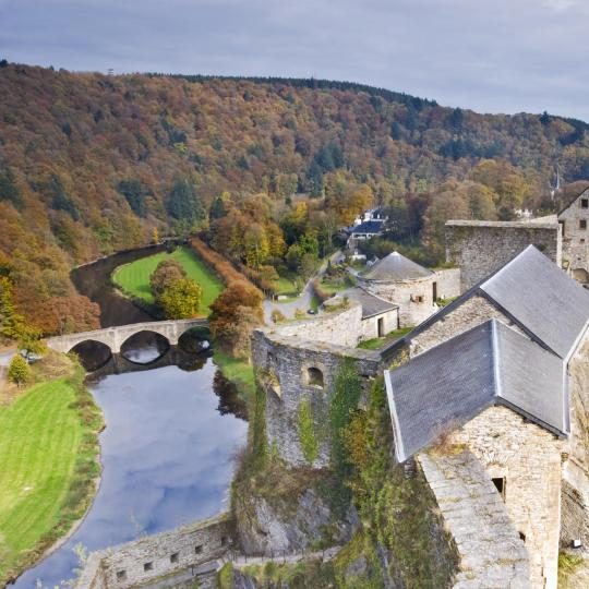 Travel back in time at Bouillon Castle