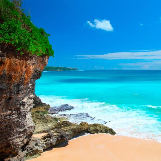 Bukit peninsula's white sand beaches
