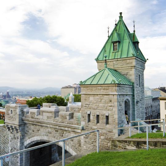 Окруженный стенами Старый Квебек