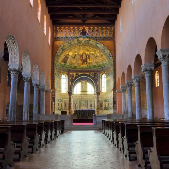 UNESCO-listed Euphrasian Basilica