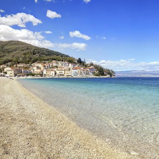 Istria's blue beaches