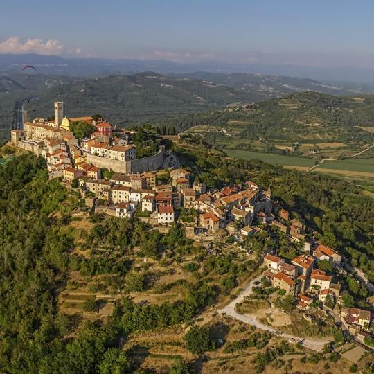 Picturesque hilltop towns