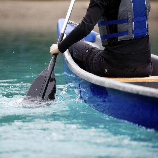 Canoë-kayak sur la Cèze
