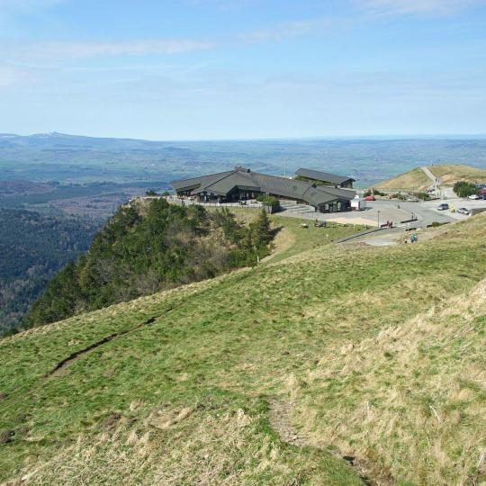 View from the Puy-de-Dôme summit