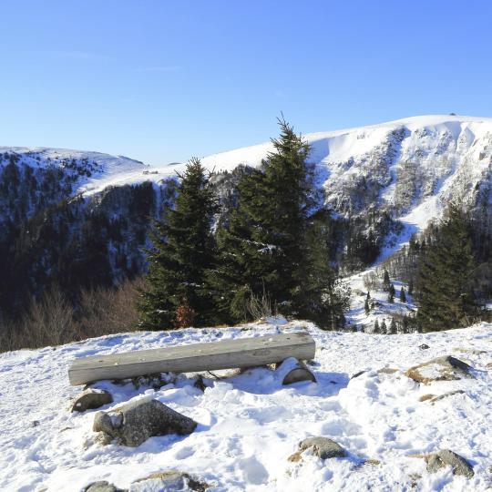 Skiing in Gérardmer