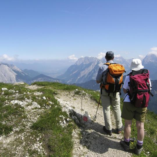 GR55 hiking trail