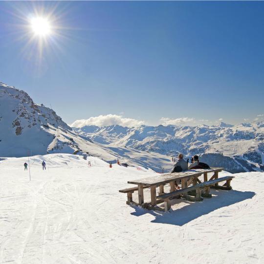 Les Trois Vallées Ski Resort