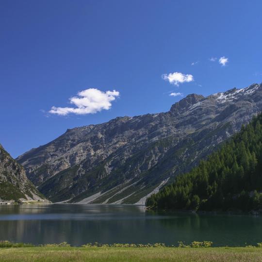 The Valtellina valley
