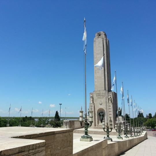 Monumento Nacional a la Bandera en Rosario