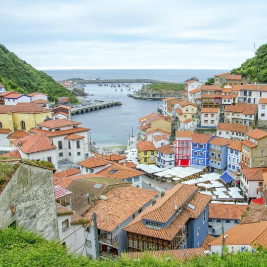 Vistas panorámicas de las localidades costeras