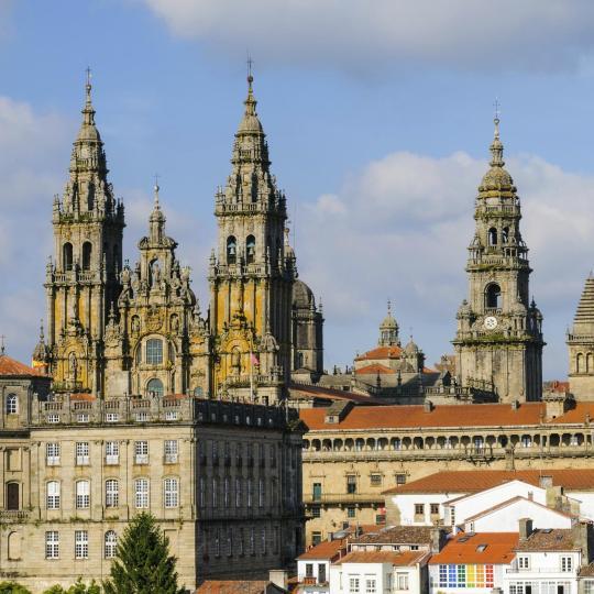 Santiago de Compostela's old town