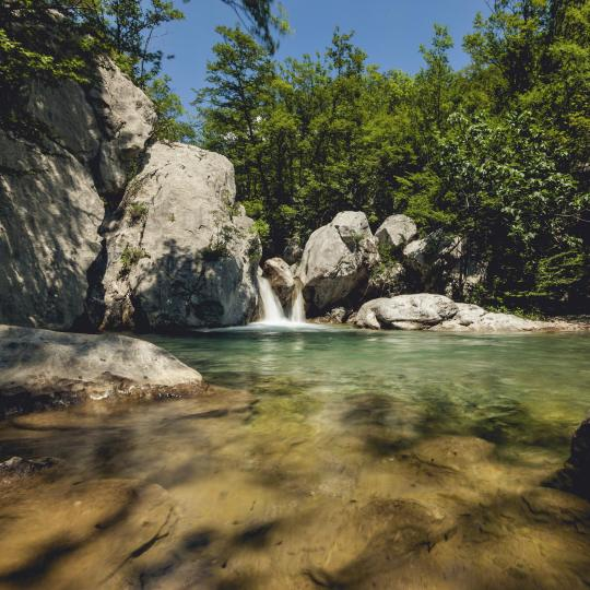 Hiking in Paklenica National Park