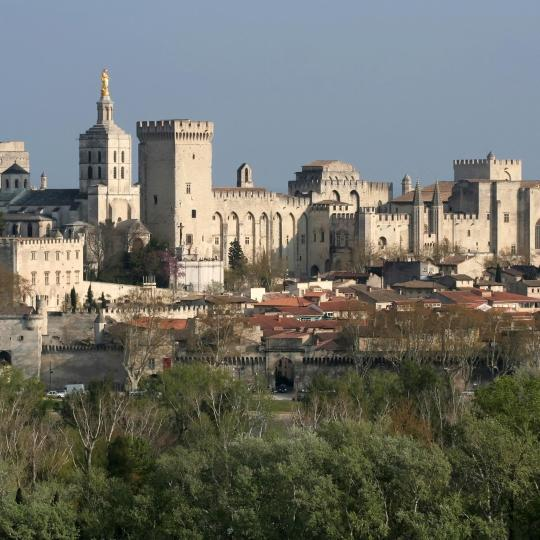 Il Palazzo dei Papi di Avignone