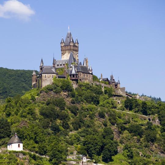 Visit Cochem's impressive Reichsburg Castle