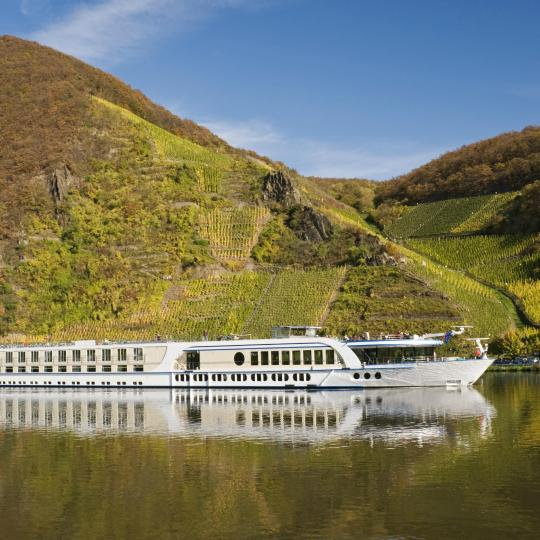 Cycle or cruise the romantic Moselle River