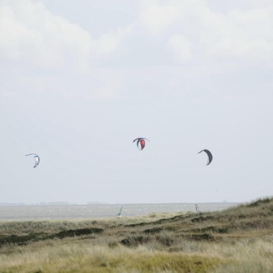 In Sankt Peter-Ording kiten lernen