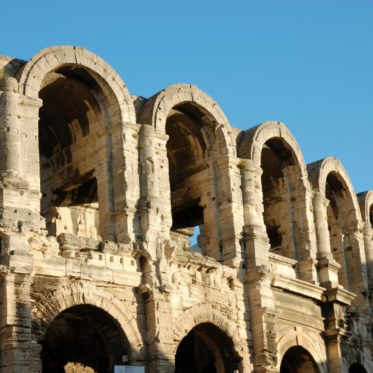 L'anfiteatro romano di Arles